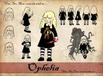 Ophelia Model Sheet
